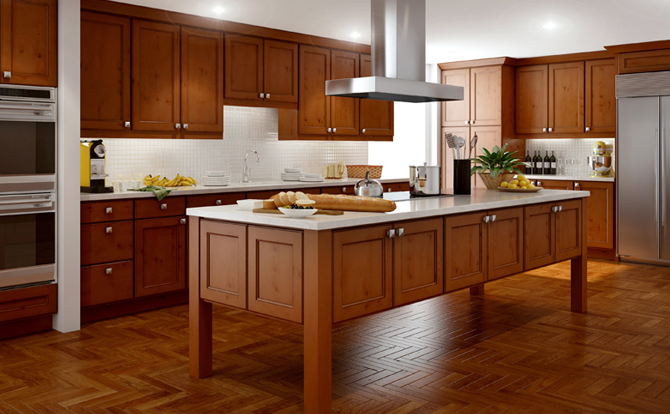 Kitchen Cabinets San Antonio With Maple Nutmeg Cabinets Stain Also